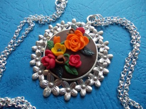 Hot Summer - FIMO pendant